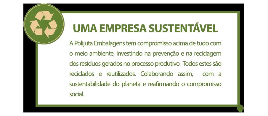 Uma Empresa Sustentável